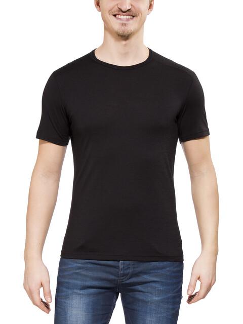 Icebreaker M's Oasis SS Crewe Shirt black
